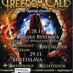 NEMCI FREEDOM CALL V NOVEMBRI 2-KRÁT NA SLOVENSKU