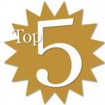 REDAKČNÝ REBRÍČEK TOP 5 ZA ROK 2011