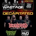 Košičania WASTAGE idú krstiť nový album: Špeciálnym hosťom akcie DECAPITATED!