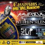 Melodický večer v Košiciach: Collosseum ovládnu RAVENCLAW, WITHIN SILENCE a SLIP OF THE LIP