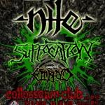 Technická a brutálna jazda: Košice navštívia ikony svetového death metalu, NILE a SUFFOCATION!