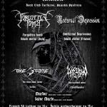 Black Candles of Death III.: Pod Urpínom lahôdka pre black metalistov, FORGOTTEN TOMB a NOCTURNAL DEPRESSION!