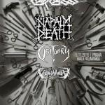 Exkluzívny koncert: Štyri legendy CARCASS, NAPALM DEATH, OBITUARY a VOIVOD v Prahe!