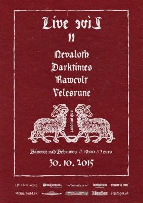 nevaloth-darktimes-koncert-banovce-2015-plagat