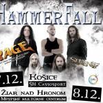 HAMMERFALL so špeciálnymi hosťami v dvoch slovenských mestách!