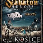 Vo februári sa v Košiciach spolu so SABATON predvedie exkluzívny hosť: Tešte na sa československú legendu!