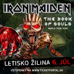 Iron Maiden v Žiline