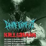 KILLCHAIN vyrážajú na spoločné turné s ANIME TORMENT: Na Slovensku sa zastavia v Košiciach a Lučenci