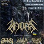 Carnival of Souls – Black Ritual: Jediné vystúpenie Ukrajincov KHORS v našich končinách