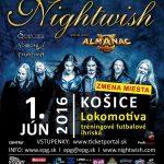 Megakoncert NIGHTWISH v Košiciach už o 2 dni: Pozor, mení sa miesto konania!