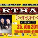 Rock pod hradom 6: Na jednodňovej akcii sa predstavia maďarské rockové legendy KARTHAGO