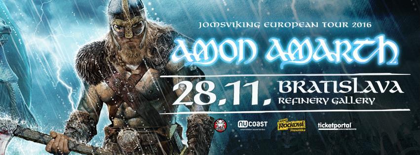 Amon Amarth v Bratislave
