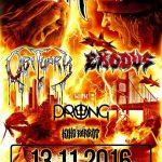 Vražedný line-up sa v novembri preženie Ostravou: OBITUARY, EXODUS a PRONG!