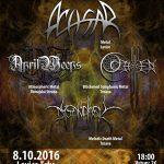 Metal Unleashed: V Leviciach sa predstavia domáci ACHSAR, APRIL WEEPS a ďalšie 2 kapely