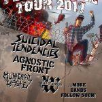 Brno privíta v januári 2017 Persistence Tour na čele so SUICIDAL TENDENCIES a AGNOSTIC FRONT