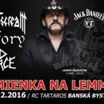 Spomienka na Lemmyho: Tri slovenské kapely vzdajú hold tomuto velikánovi, budú hrať skladby MOTÖRHEAD