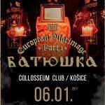 Omša na Troch kráľov: Pravoslávne black metalové zjavenie BATUSHKA v Košiciach