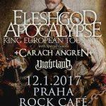 FLESHGOD APOCALYPSE už o dva dni zničia Prahu svojim orchestrálnym death metalom