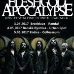 FLESHGOD APOCALYPSE začiatkom mája odohrajú na Slovensku až tri koncerty