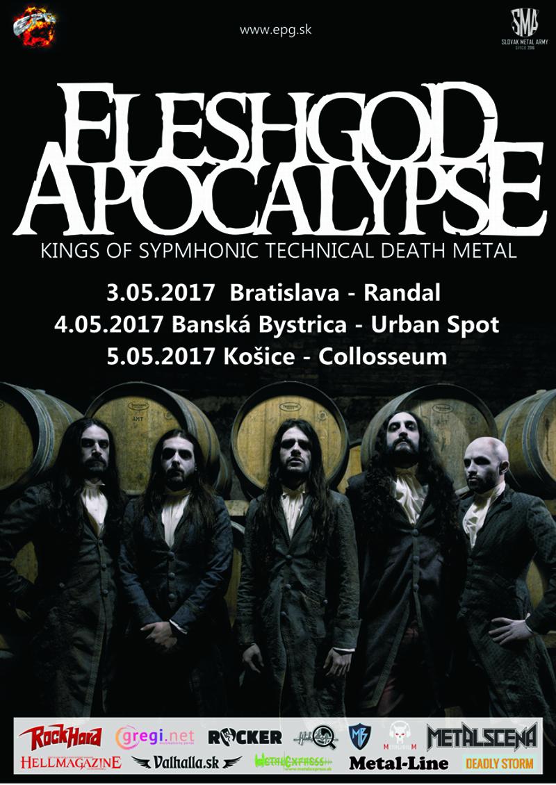 Fleshgod Apocalypse v máji na Slovensku