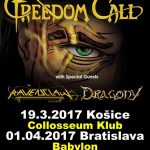 """""""Happy"""" metalisti FREEDOM CALL dvakrát na Slovensku. Spolu s nimi aj ďalšie dve kapely"""