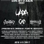 Začiatkom augusta Loud Farm Fest: Počas dvoch dní sa môžete tešiť na 29 kapiel