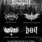 Black metalový večer v Bratislave. ALGOR, DARKTIMES, BAIT a ďalší