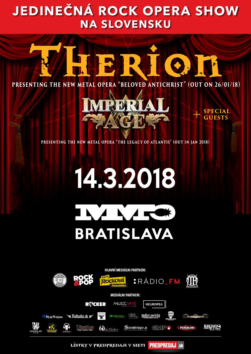 Therion v Bratislave