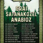 Folk metalový maratón na čele s GRAI aj v troch slovenských mestách