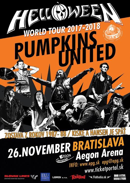 Helloween s Kiskem a Hansenom v Bratislave