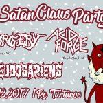 Počas sviatkov Satan Claus Párty: V Banskej Bystrici sa zabavíte so SURGERY či ACID FORCE