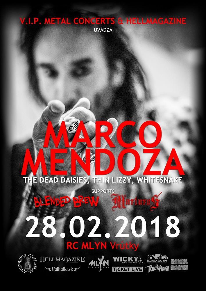 Marco Mendoza vo Vrútkach