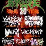 BRUTE oslavujú 20 rokov! V septembri budú mať veľkú death metalovú narodeninovú party