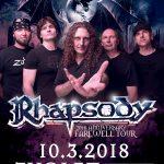 Rozlúčkové turné RHAPSODY v takmer pôvodnej zostave. Jediný koncert na Slovensku bude vo Zvolene
