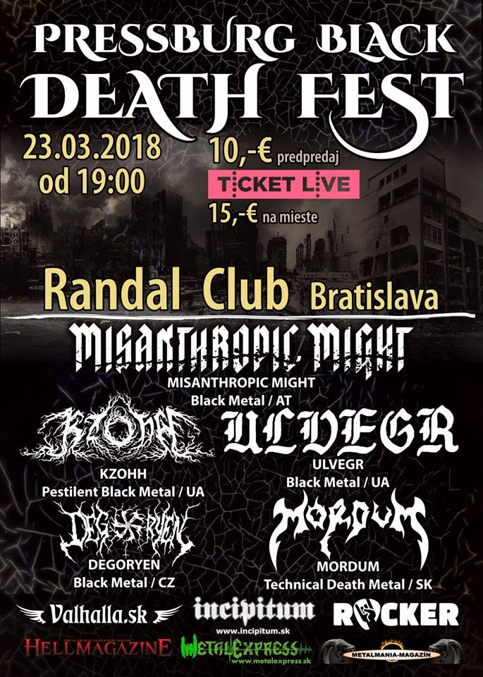 Pressburg Black Death Fest