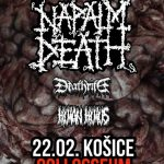 Winter Assault Tour na čele s NAPALM DEATH zavíta aj do Košíc
