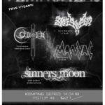 Sereď ožije metalom, na akcii Temnohlas zahrajú OHEN či SINNERS MOON