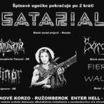 Black metalová smršť a nahota. Ružomberok navštívia kontroverzní Rusi SATARIAL