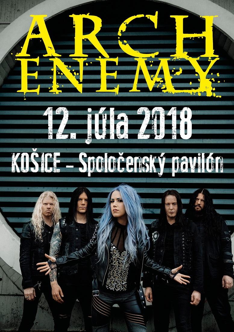 Arch Enemy v Košiciach