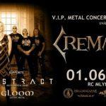 Gothic metalové legendy CREMATORY po prvýkrát na Slovensku