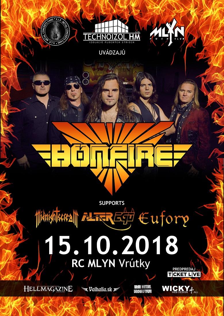 Bonfire vo Vrútkach