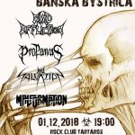 Vile Sounds Banská Bystrica: Štyri poľské death metalové kapely prídu zničiť Tartaros