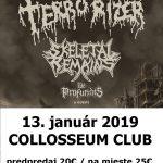 Koncertný začiatok roka ako hrom: V Košiciach sa predstaví grindcorové komando TERRORIZER