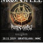 Obľúbené skupiny MOONSPELL a ROTTING CHRIST na spoločnom turné nevynechajú ani Bratislavu