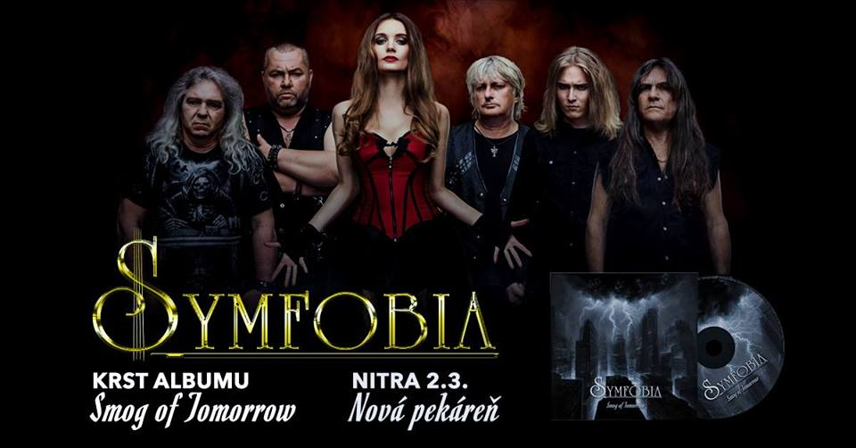 Krst druhého albumu Symfobia