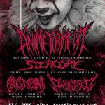Narodeninová párty v štýle death metalu a deathcoru: ANIME TORMENT či STERCORE v Nitre