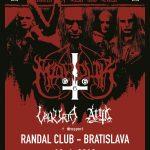 Black metalová blasfémia v Bratislave: Na Slovensko sa vracajú MARDUK