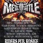 Wacken Metal Battle sa presúva do Košíc. Druhé semifinále už túto sobotu