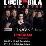 Súťaž o 2 voľné vstupy na koncert ARAKAIN s Luciou Bílou, AMARANTHE a ďalších