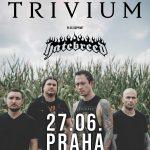 TRIVIUM vystúpia v júni aj v Prahe, špeciálnymi hosťami večera budú HATEBREED